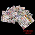 100 PCS/Lot All Different USA American Postage Stamps Used With Post Mark For Collection Carimbo Stamps