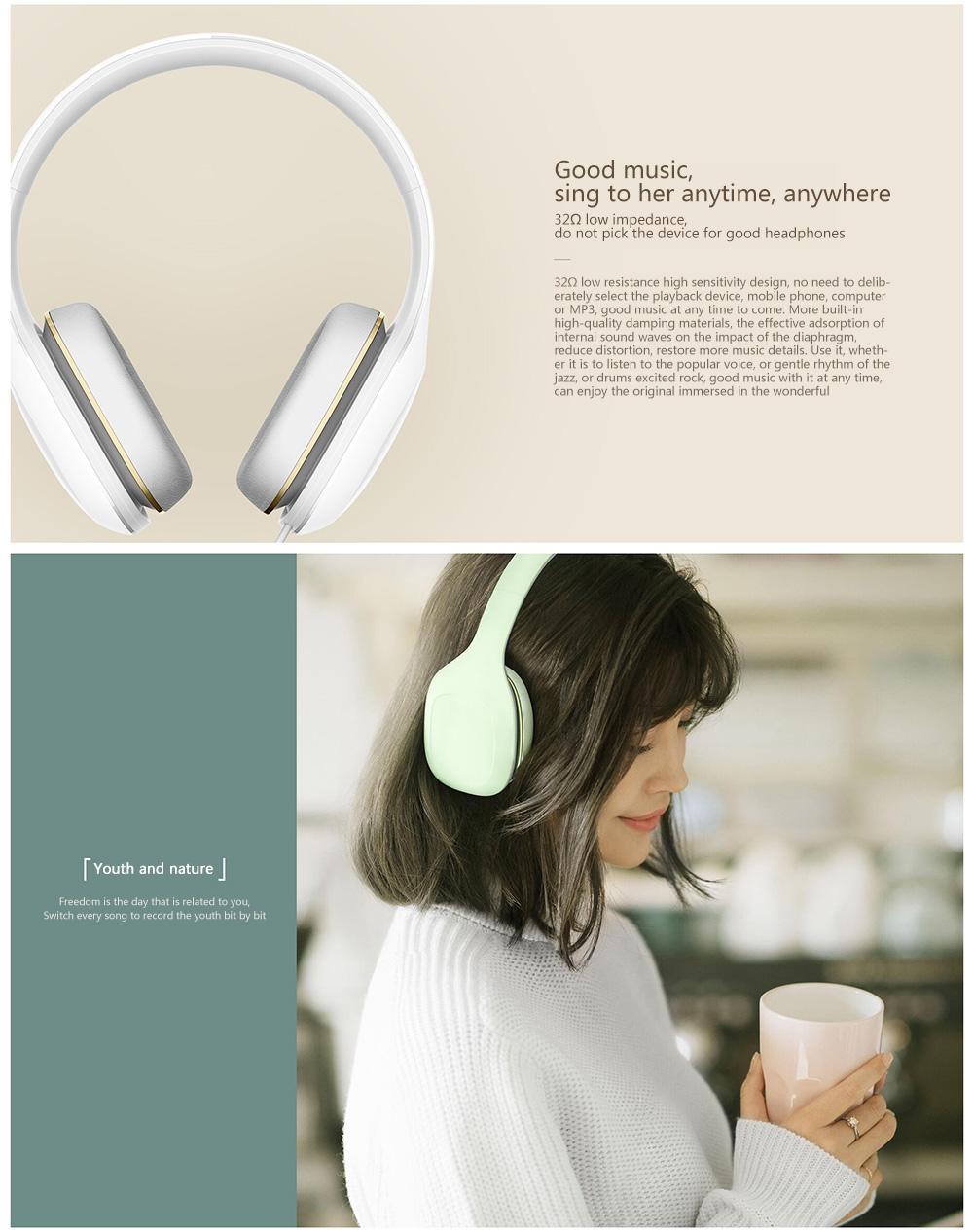 Original Xiaomi Mi Headphone Comfort In Stock 2017 Newest Xiaomi Mi Headphone With Mic Xiaomi Headset