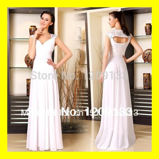 Cheap Evening Dresses Ireland Dress Hire S Long Uk New A-Line Floor-Length Built-In Bra Beading Sweep Train V 2015 Free Shipping(China (Mainland))