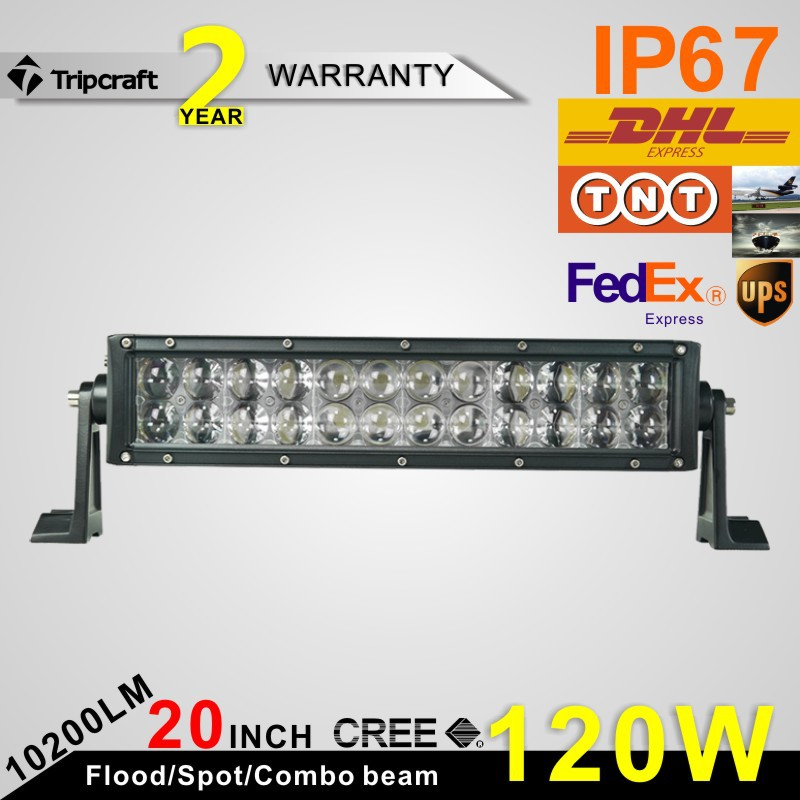 Фотография 120W 4D LED LIGHT BAR OFF ROAD For Off Road 4X4 Truck SUV ATV Auto Car LED Driving Light Bar