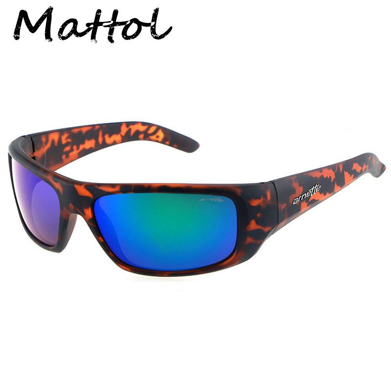Mattol 2016 New Fashion Arnette Sunglasses Brand 8 color Designer Men Eyewear Outdoor sport Oculos De Sol Masculino Sun Glasses(China (Mainland))
