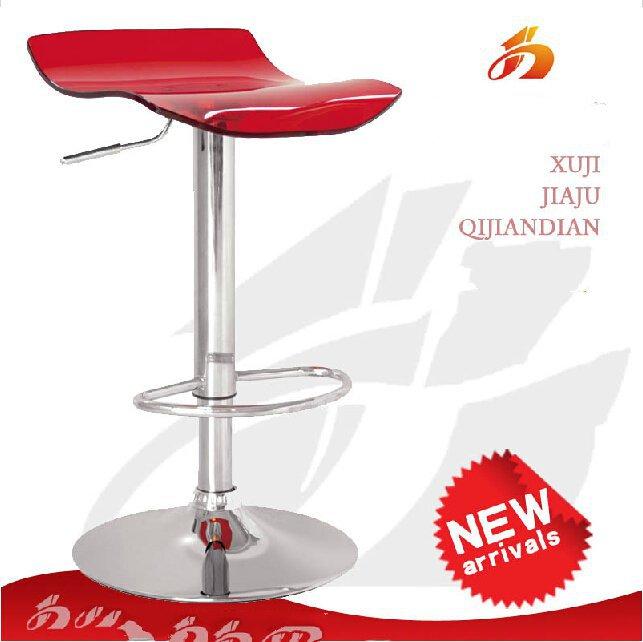 Fashion Acrylic Bar Chair Bar Stool Swivel Chair Lifts