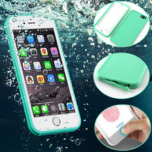 For iPhone 6 6S 6S plus Ultra Slim Luxury Shockproof Hybrid Rubber Waterproof Soft Silicon TPU Touch Case Back Cover IP 5 SE(China (Mainland))