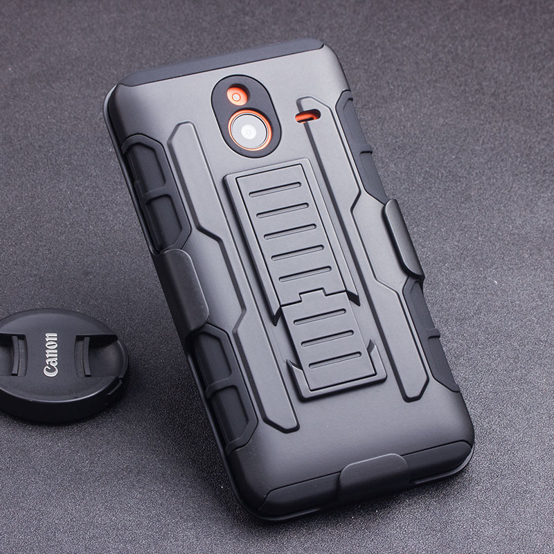 Armor Impact Shockproof Hard Case For Microsoft Nokia Lumia 520 630 635 640 640XL 929 930 950 Cover Cell Phone Belt Clip Holster(China (Mainland))
