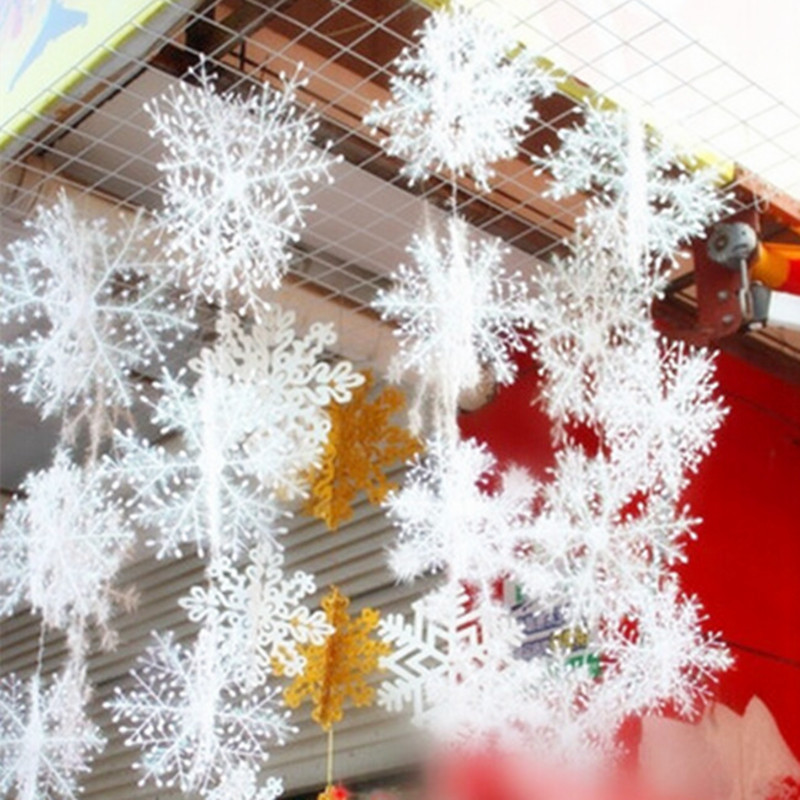 buy 30pcs lot snowflake christmas