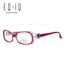 Acetate Frame Elegant Glasses For Women Fashion Full frame Eyeglasses Frame Reading Glasses Deep Purple Frames Catawba