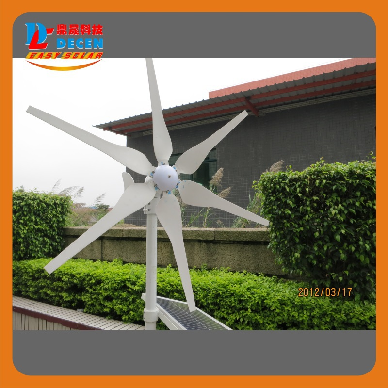 400W High efficiency wind generator Small size Low weight. Low noise Easy install 6 blades CE certificate<br><br>Aliexpress