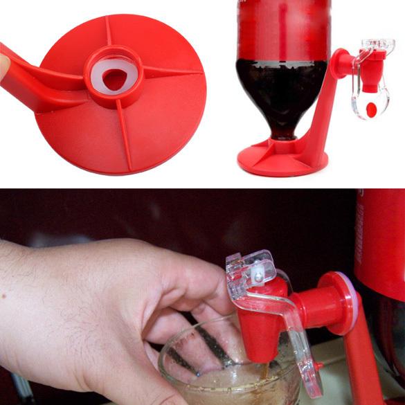 Free Shipping 6pcs Soft Drink Dispenser Fridge Fizz Saver Soda Dispenser Switch Drinking Little Bottle As Seen On TV -- MTV30