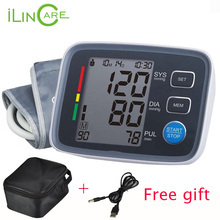 Arm Blood Pressure Pulse Monitor Health care Monitors Digital Upper Portable Blood Pressure Monitor meters sphygmomanometer(China (Mainland))