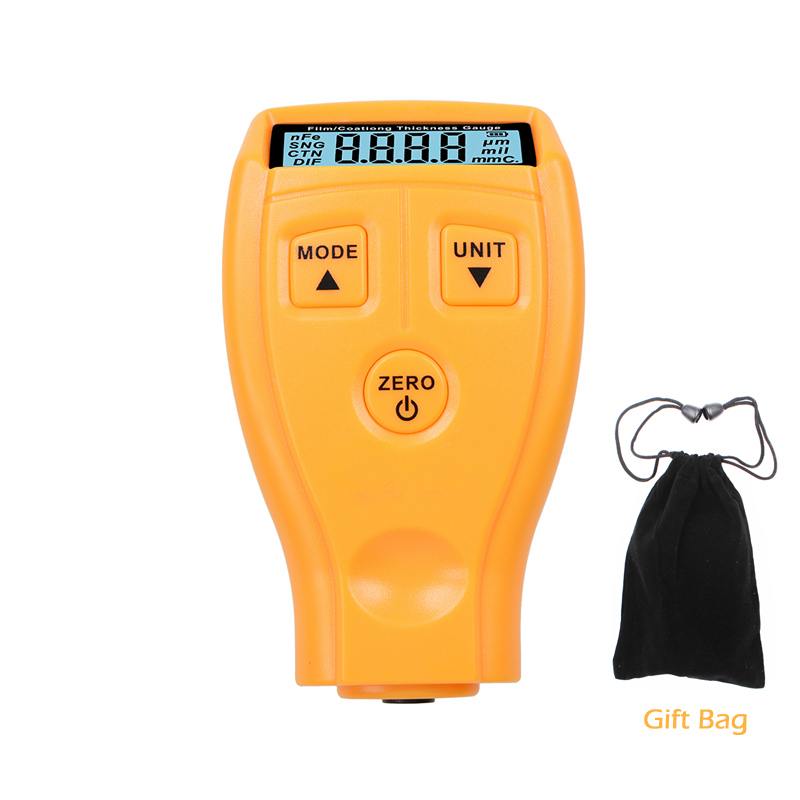 WHDZ Coating Painting Thickness Gauge Tester GM200 Ultrasonic Film Mini Car Coating Thickness measure Paint Thickness Gauge