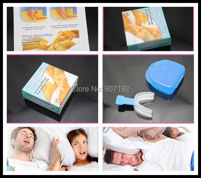 300Pcs/lot Stop Snoring Device Anti/Stop Snore Kit Anti Snore and Apnea Device Quiet Sleep MY326
