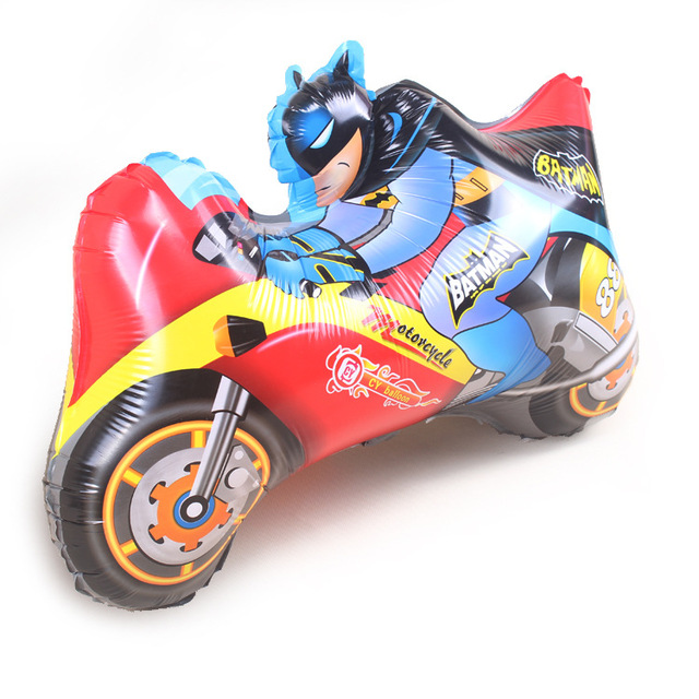 Batman Toys For Boys For Christmas : Cm motorcycle batman balloons party inflatable foil
