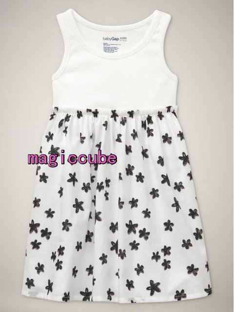 free shipping(12pieces) new 100% cotton toddler girl dress kid cloth summer wholesale