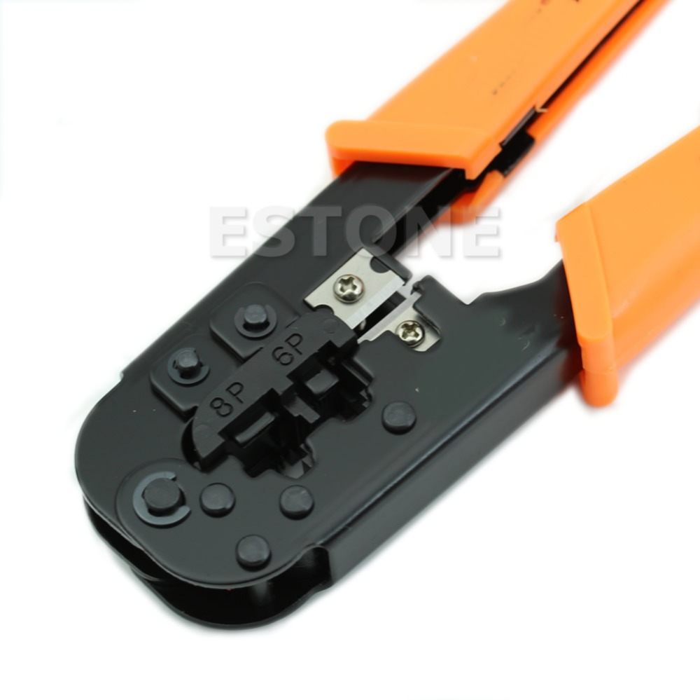 1PC RJ11 RJ45 6P 8P Ethernet Cable Crimping Plier Network Clamp Tool New Free shipping<br><br>Aliexpress
