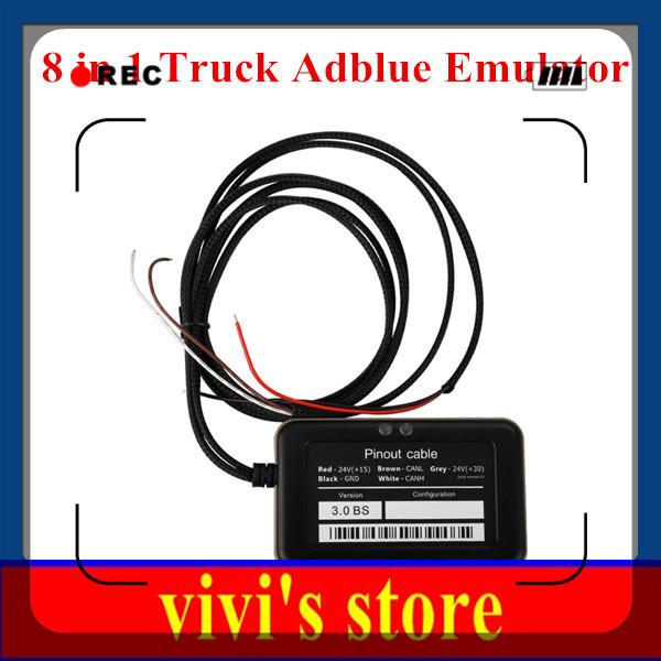 Best quality 2015 Cheap Truck Adblue Emulator 8-in-1 For Truck with Nox Sensor for Volvo/MAN/DAF Adblue Emulator Box Adblue Emul(China (Mainland))