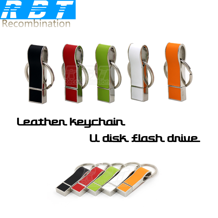 2015 RBT Real Capacity Colorful Leather Medal Whistle 8GB 16GB 32GB Pen Drive Pendrive USB Flash Drive For PC Free Shipping(China (Mainland))