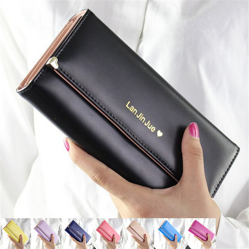 Гаджет  2015 Fashion Desige Handbags Lady Women Wallets Bag Popular Purse Long PU Handbags Card Holder Birthday Bags Party Free shipping None Камера и Сумки