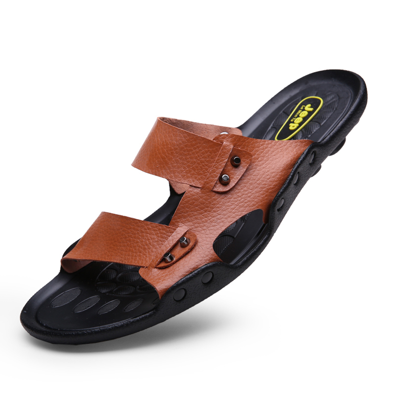 2013 mens shoes summer sandals genuine leather casual