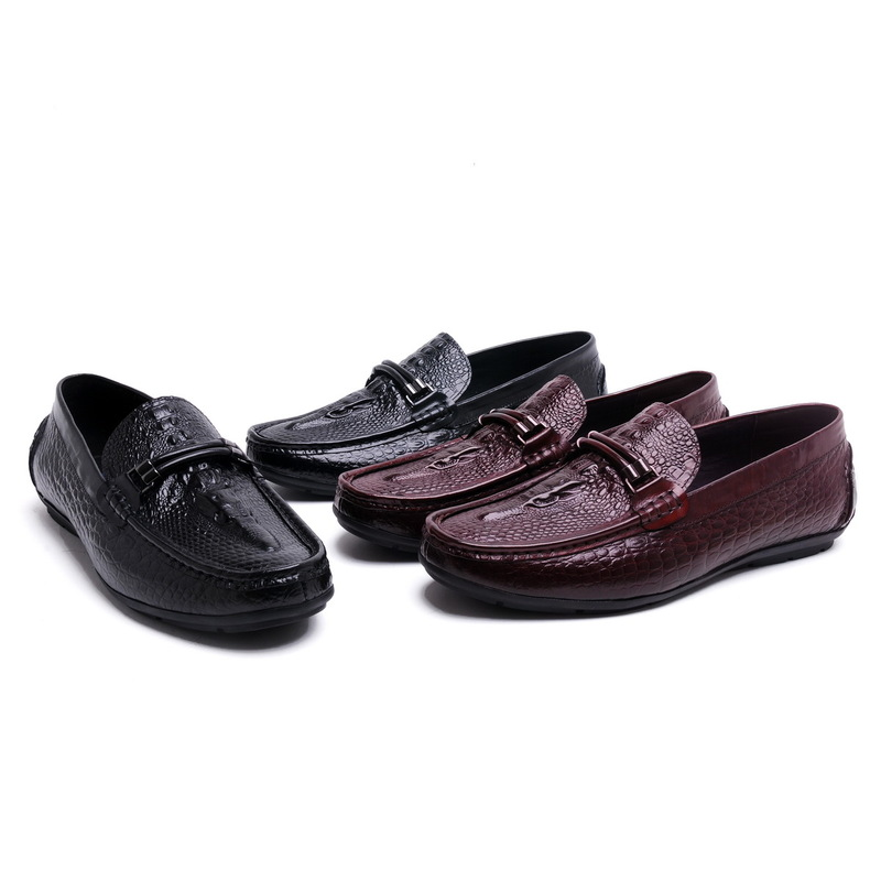 Фотография 2016 New Mens Casual Genuine Leather Slip On Men Loafers Moccasins Flats Sapatos Masculinos Social  Flats Loafers Driving Shoes