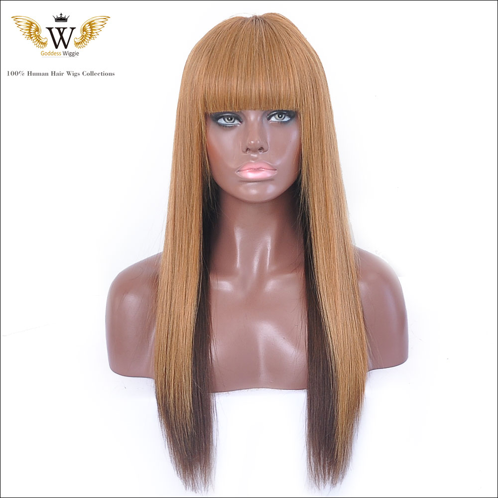 200 Density Long Straight Lace Front Wigs Brazilian Virgin Full Lace Wigs Human Hair Glueless Ombre Long Wigs With Full Wigs