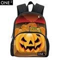 ONE2 Design hot sell Halloween backpack for kids Halloween gift for school children pumpkin and witch