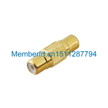 Buy 2015 Top Brand RCA Female RCA Female Coupler AV Audio Adapter Connector gold-plated 10pcs for $10.10 in AliExpress store