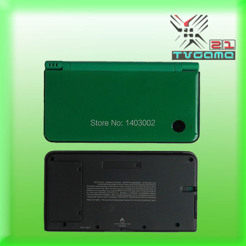 Full housing shell for NDSI XL Green Housing Shell Case for NDSI LL main case game consoles(China (Mainland))