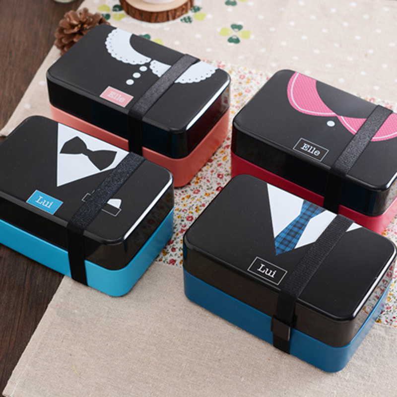 buy thermal lunch box bento lunch box with double layer japanese lunch box. Black Bedroom Furniture Sets. Home Design Ideas