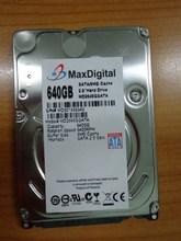 Brand New 2.5inch HDD 640GB 5400Rpm 8M Buff SATA Internal Hard Disk Drive For Laptop Notebook MaxDigital/MD640GB SATA 2.5inch(China (Mainland))