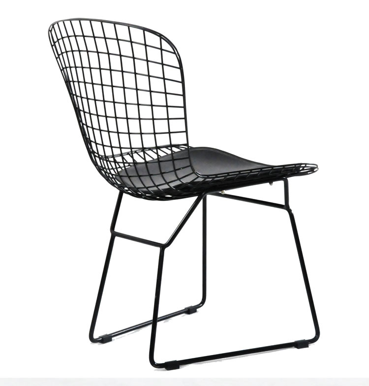Bo Tuoai chair metal wire chairs outdoor lounge chair cafe ...