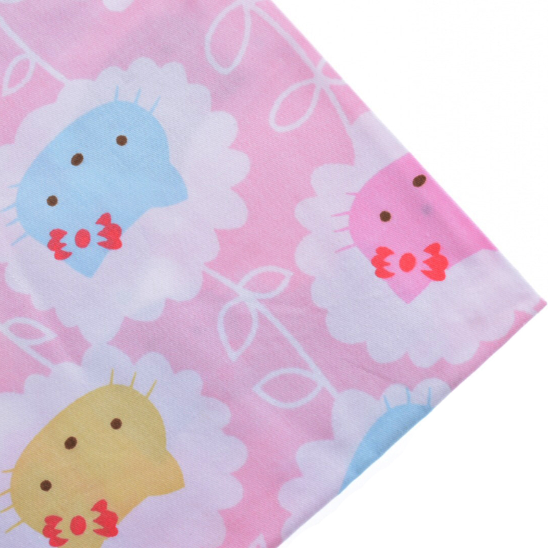 Printed Twill Cotton Fabric For Sewing Quilt Material Hello Kitty Curtain Sheet Pillow Cloth Tilda Tissue CC007-A Half Yard(China (Mainland))