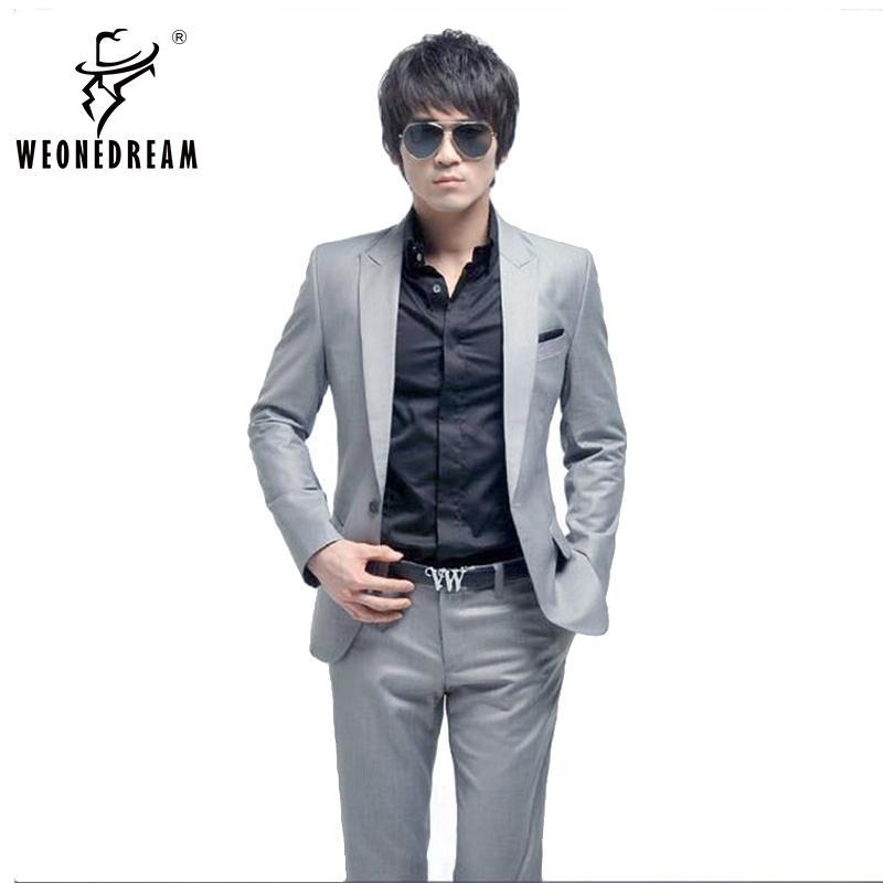 Buy Weonedream Men Suit 2016 Quality Fashion Men Suits Prom Dresses Men Blazer
