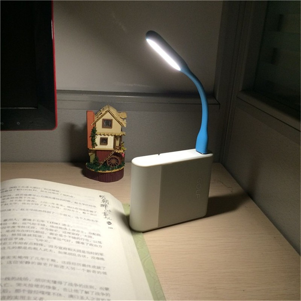 New Mini Flexible USB Led Light Table Lamp Gadgets For Power bank PC laptop notebook Android phone OTG cable(China (Mainland))