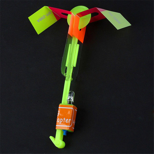 New Amazing Arrow Helicopter Flying Toy LED Light for Kids Outdoor Birthday VBD29 P(China (Mainland))