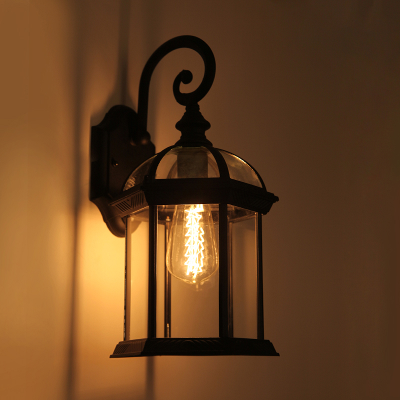 Vintage Outdoor Wall Lamps : American-vintage-outdoor-wall-lamp-led-household-fashion-stair-garden-lights-wall-light.jpg