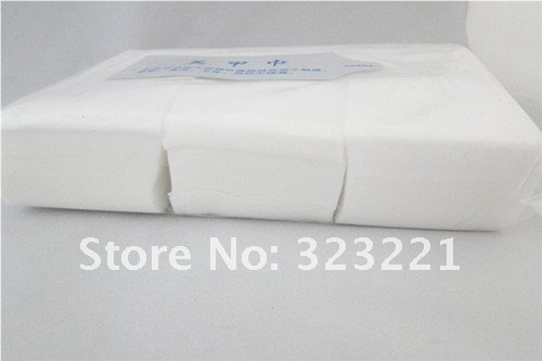 600pcs/pack Professional Lint Free Nail Wipes Soft Cotton Wipe Polish Remover, 2 pack/lot + - Blingway Care products Co., Ltd. store
