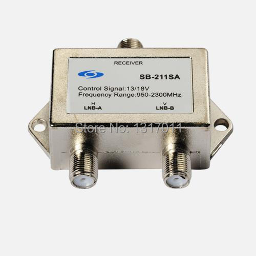 Seebest SB-211SA TV Satellite Switch wwith 2 inputs and 1 output/selector switch 2*1 satellite signal switch(China (Mainland))