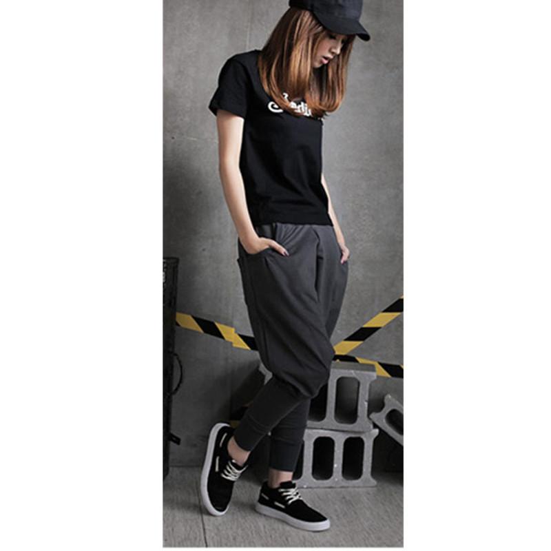 Hot sales New Hot Men Women Hip Hop Harem Pants Drop Crotch Sweatpants Trousers Slacks Palazzo Pants
