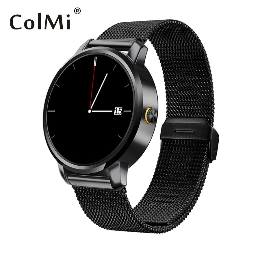 Фотография ColMi Smart Watch Waterproof Steel IPS Clock Compatible IOS Android Bluetooth Connect Smart Phone VS32 Smartwatch
