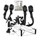 1 Set 4Pcs Bed Restraints Bondage Sex Toys for Couples Sex Accessories for Adults Bondage Set