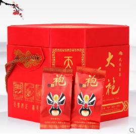 Dahongpao tea gift box high-grade dress Wuyi rock Super dahongpao Oolong Chinese kungfu - Life taste store