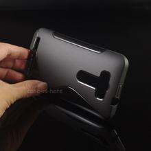 Бесплатная доставка мягкий s-линии волна гель тпу чехол кожи для Asus Zenfone 2 лазерная ZE500KL ZE500KG ( 5.0 дюйм(ов) )