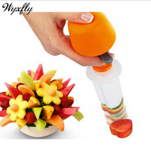 2015 Salad Fruit Arrangements Smoothie Cake Tools Carving Vegetable Kitchen Dining Bar Cooking Accessories CF018(China (Mainland))