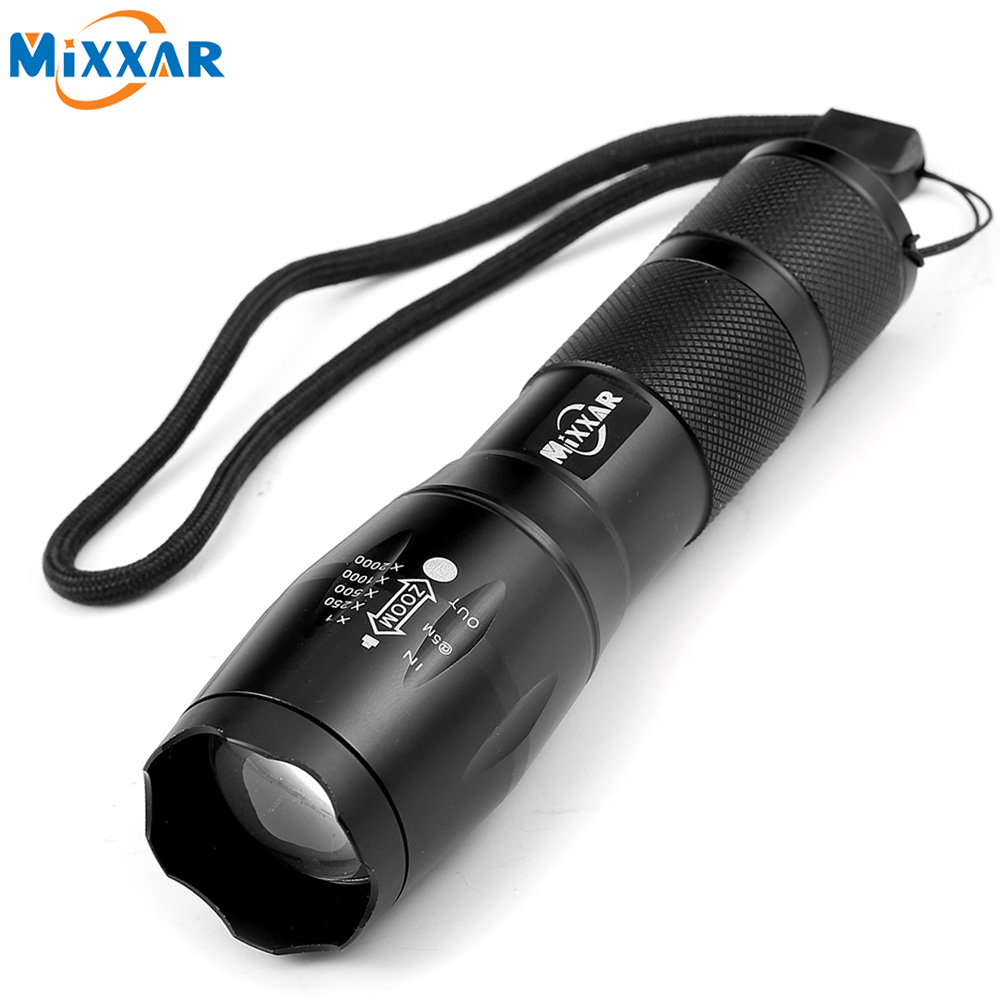 ZK90 Bike Bicycle Flaslight Light E17 XM-L T6 CREE 4000LM LED Flashlight Tactical 5 Modes Zoomable Flashlight LED Torch Light(China (Mainland))