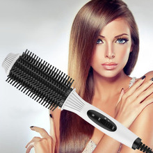 Buy Multifunctional 2 in1 Electric Straightener Curler Hair Comb Anti-scald Curling Irons Hair Curler Comb Styling Tools Hot Selling for $8.64 in AliExpress store