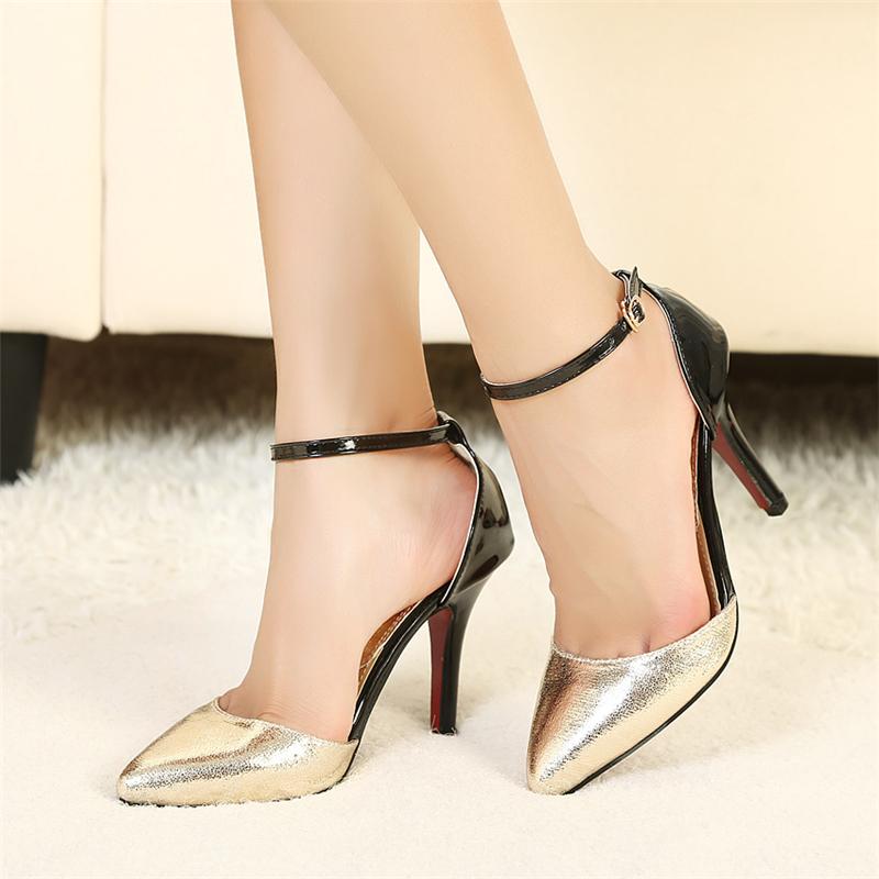 buy spring summer european high heels. Black Bedroom Furniture Sets. Home Design Ideas