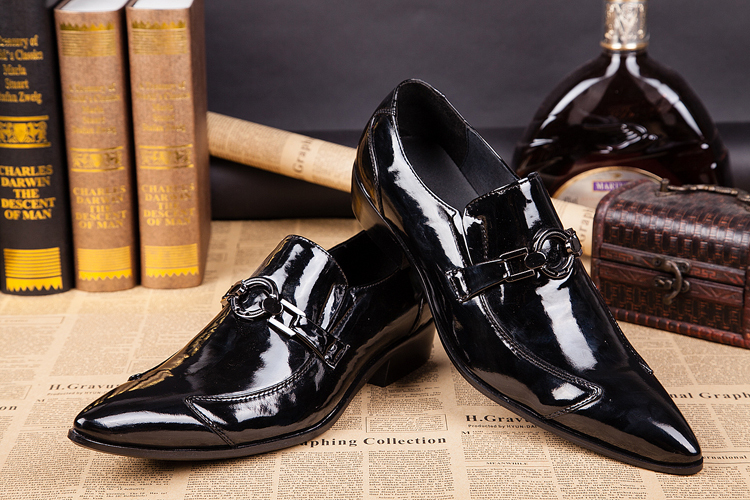 2015 Newest Style Oxford Jordan Retro 11mens Classic Black Dress Fashion Shoes Big Size Men