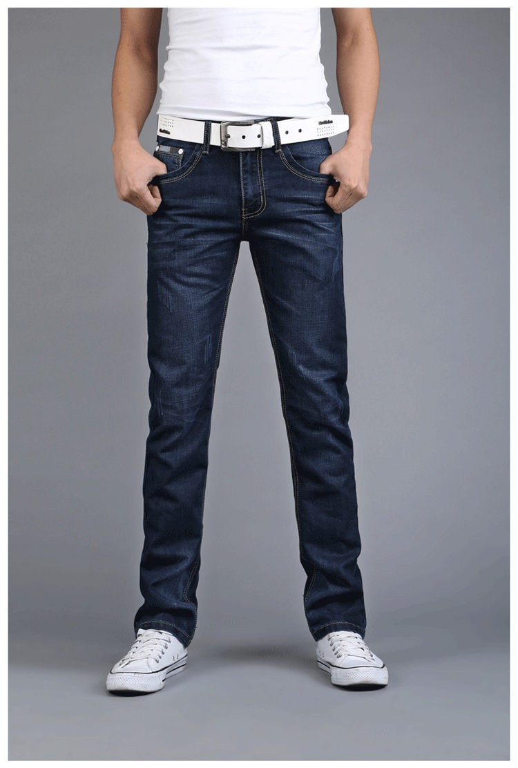 2016 New Arrival Men's Jeans high quality denim jeans leisure brand standard straight pants Trousers jeans homme