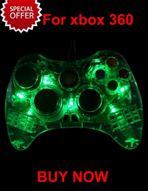 For xbox360 Wireless Controller Game Controller Gamepad joystick with LED Light for Microsoft for Xbox 360