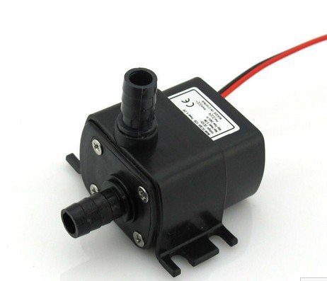 Гаджет  12V Mini DC Pump, 240LPH, 3M 4.2W, Submersible, Super long life>30000 hours, Fountain, Aquarium, Water Circulating None Строительство и Недвижимость